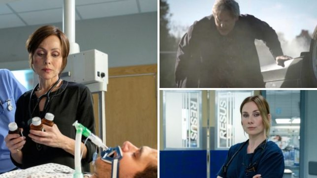 It was a huge first episode of the Holby and Casualty crossover