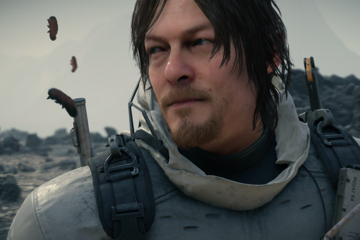 Norman Reedus motion capture as Sam Bridges in the Death Stranding video game