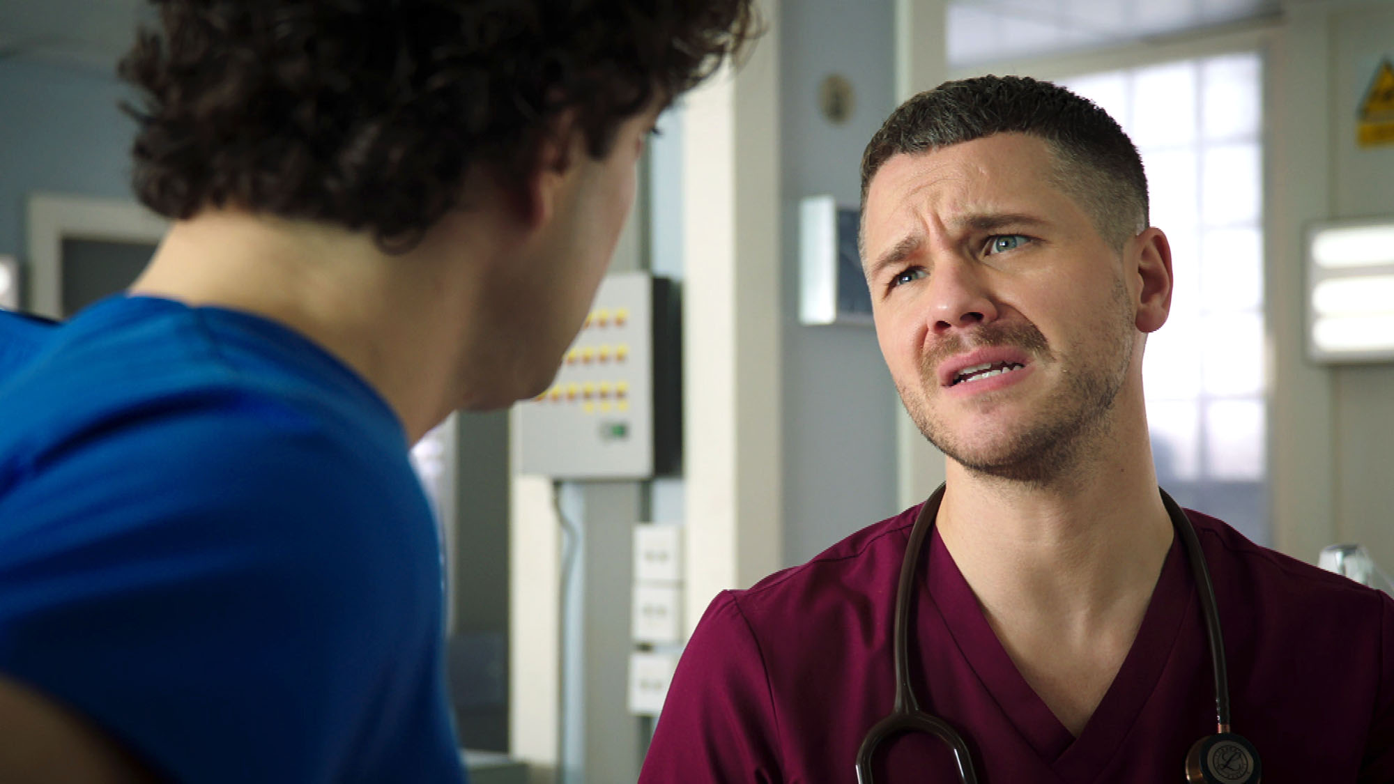 Holby City spoilers: David Ames reveals Dominic Copeland's anguish at abuser Isaac Mayfield's return