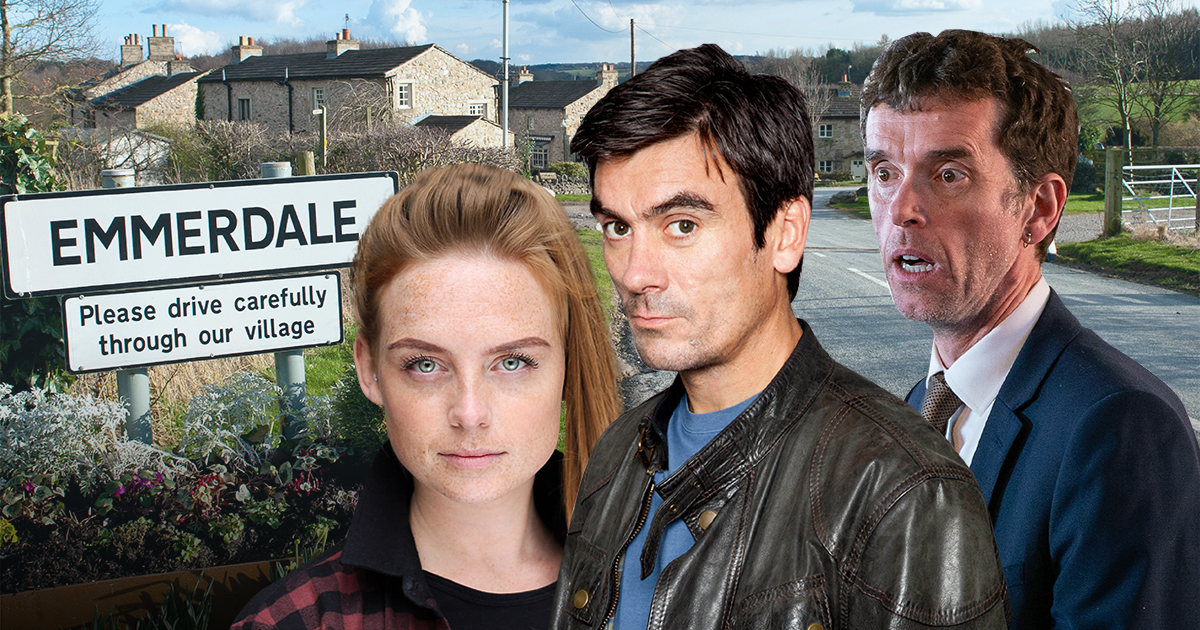 Emmerdale spoilers: Marlon in danger from Cain Dingle for bringing Amy Wyatt back?
