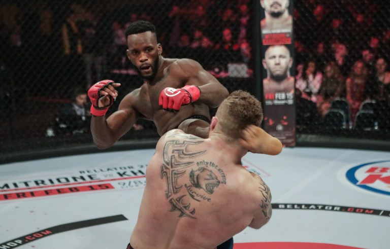 Fabian Edwards vs Lee Chadwick Bellator Newcastle