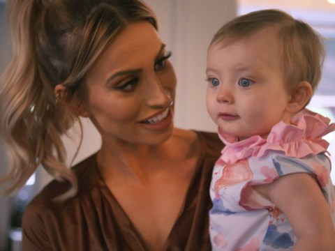 Ferne McCann slams 'mummy police' over 'ridiculous' tickling debate ahead of TV show First Time Mum
