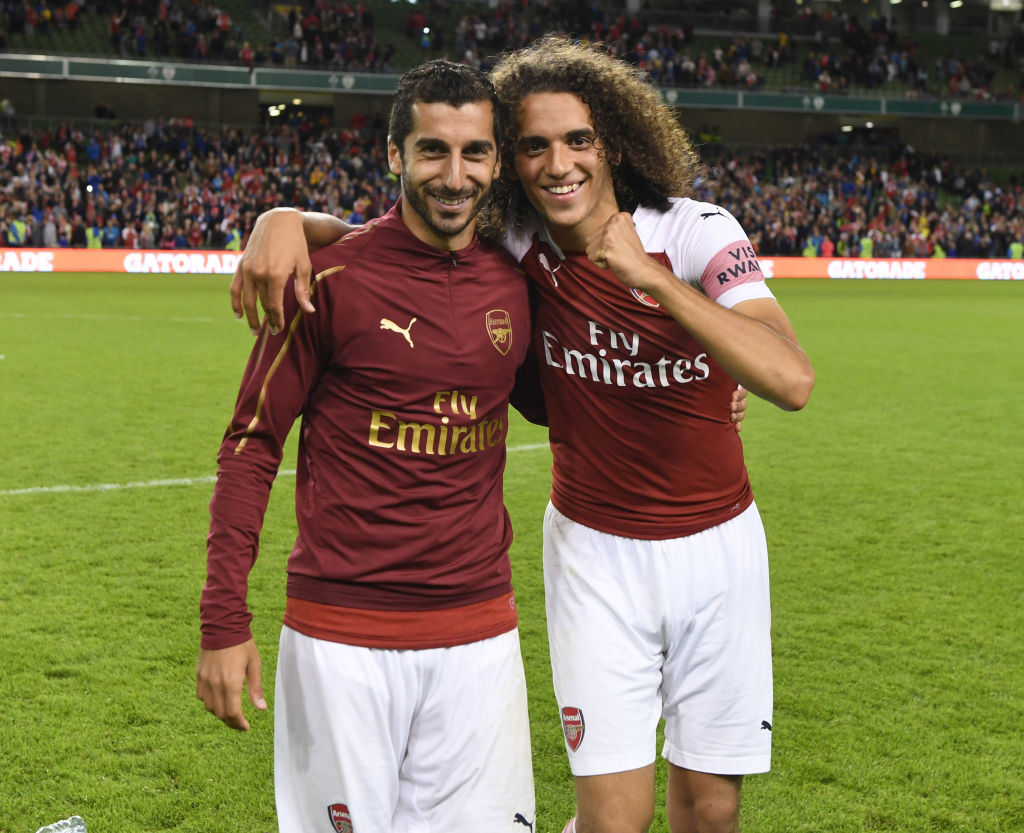 Matteo Guendouzi can become one of the world's best claims Arsenal star Henrikh Mkhitaryan
