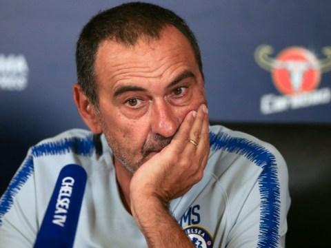 Maurizio Sarri takes swipe at three Chelsea stars including Eden Hazard
