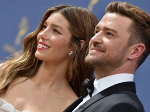 Jessica Biel falls asleep during birthday date for Justin Timberlake as she blames him for her 'smile lines'