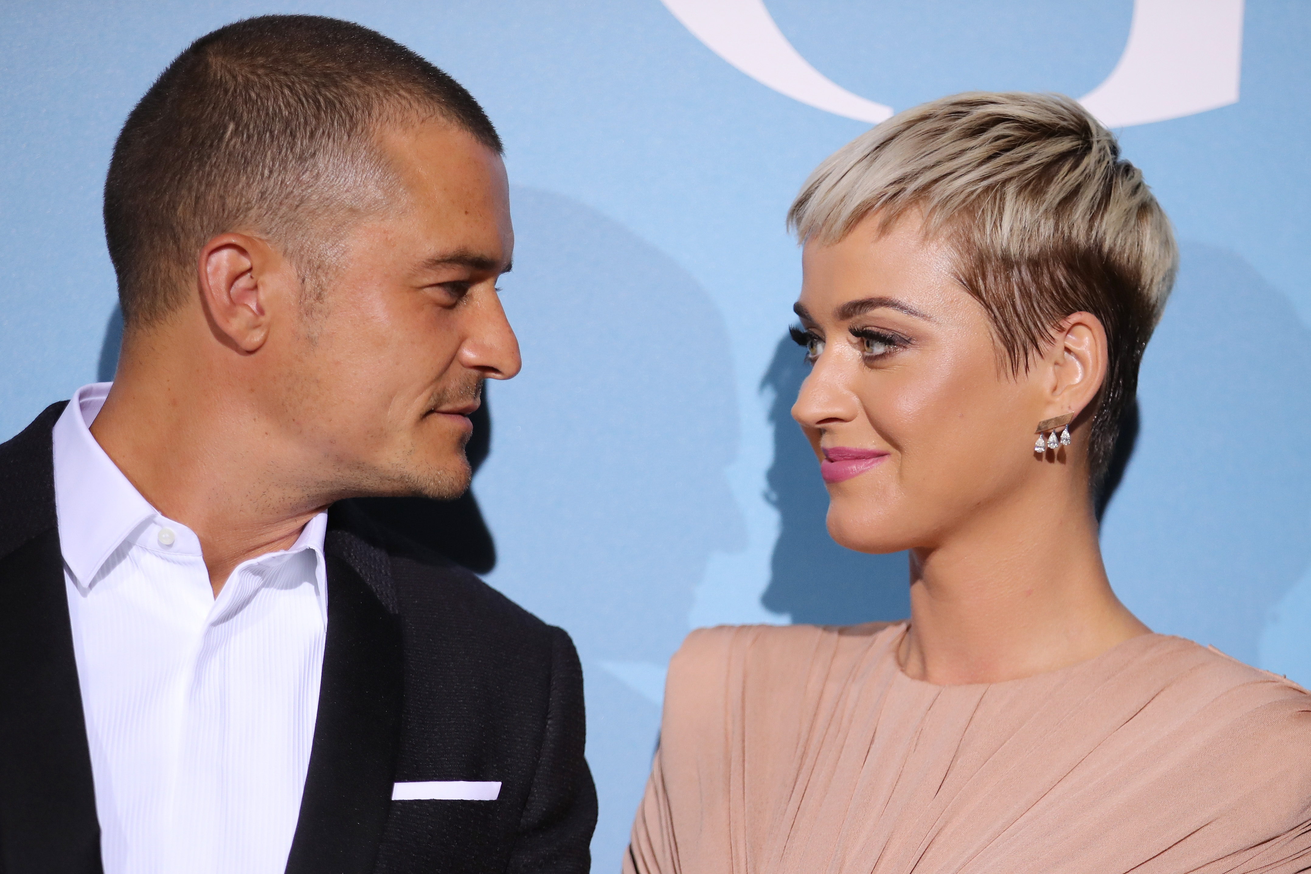 Orlando Bloom ripped jacket and smashed champagne bottle during Katy Perry proposal