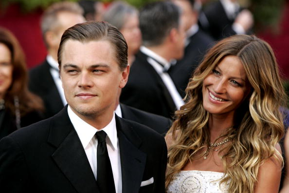 Leonardo DiCaprio and Gisele Bundchen at Oscars