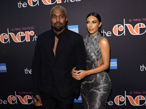 Kim Kardashian and Kanye West are selling unreleased Yeezy trainers on a lemonade stall to raise awareness of mental health