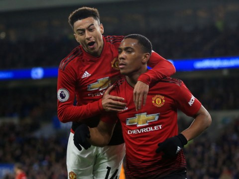 Man Utd handed huge boost with Anthony Martial and Jesse Lingard poised for quick returns