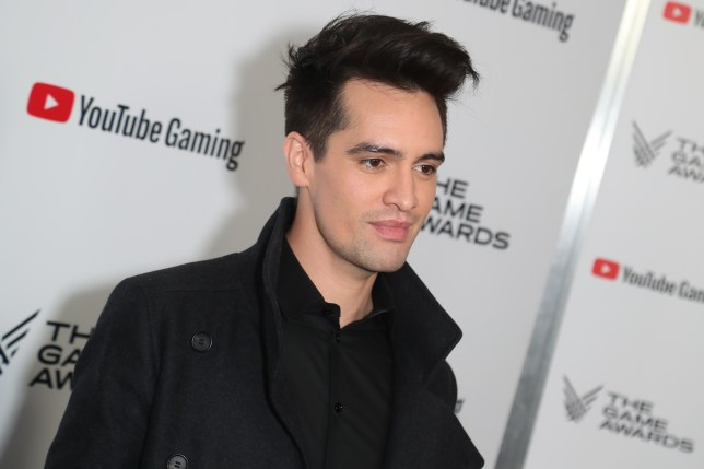 musician Brendon Urie