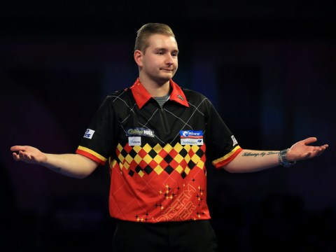 Dimitri van den Bergh vows to transfer fearsome stage form to floor tournaments