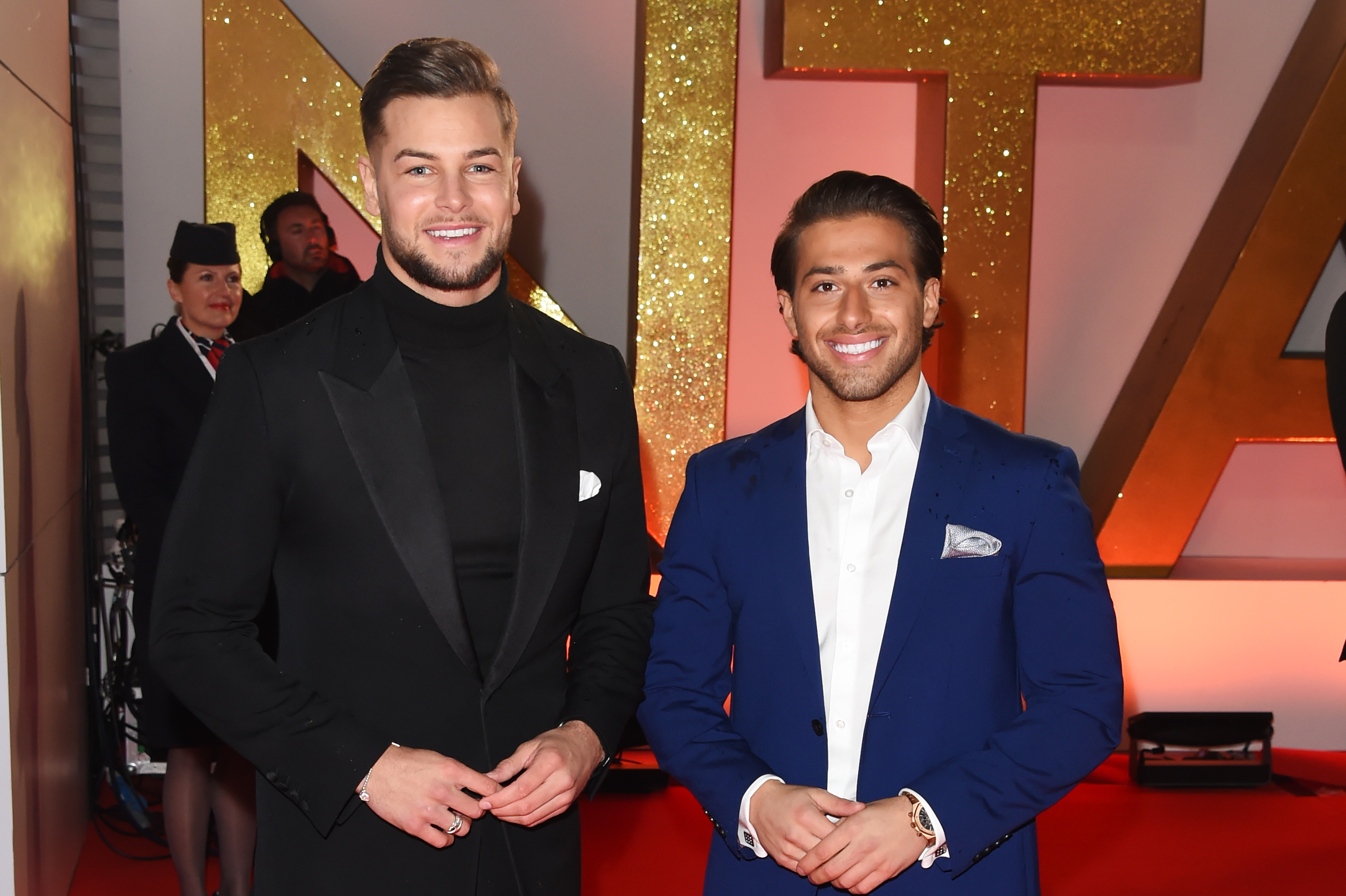 Love Island's Chris Hughes and Kem Cetinay talk stripping off and getting injured for new TV show