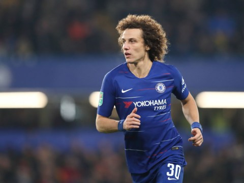 David Luiz sends message to Chelsea board over Maurizio Sarri and his future as manager
