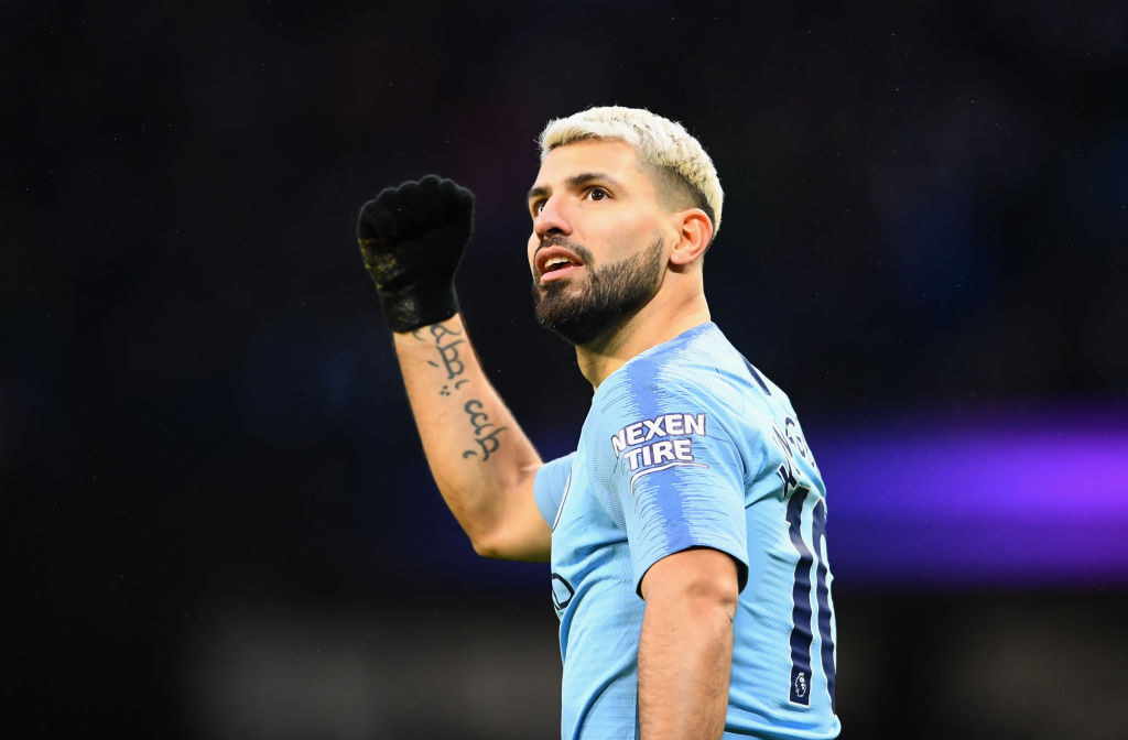 Manchester City star Sergio Aguero speaks out on handball goal in win over Arsenal