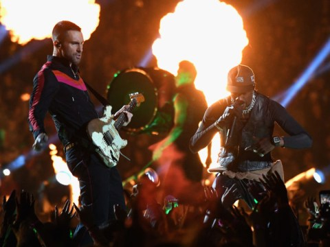 Maroon 5 joined by Travis Scott on stage for Super Bowl halftime performance but reactions are very polarised