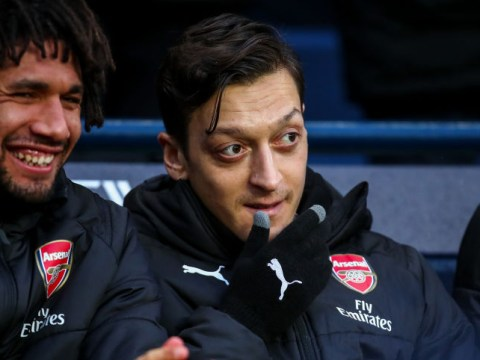 Arsenal coaches believe Mesut Ozil has been exaggerating his injuries this season