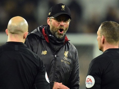 Jurgen Klopp reacts after Liverpool drop points again in West Ham draw
