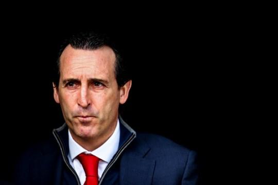 Unai Emery , az Arsenal menedzsere. Kép: metro.co.uk