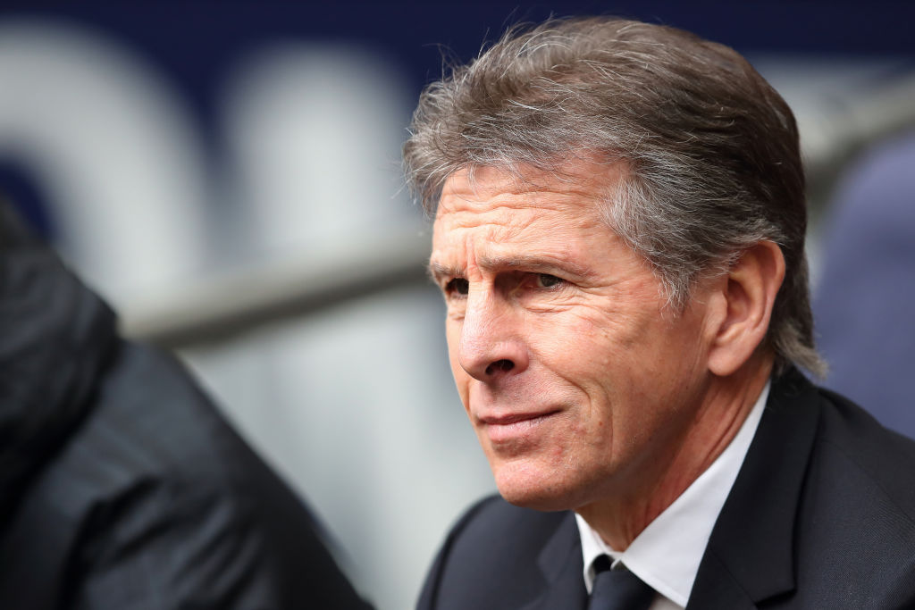 Leicester City sack Claude Puel following dismal run of six defeats in seven games