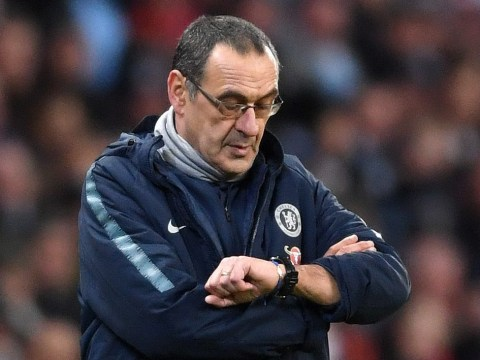 Chelsea players expect Maurizio Sarri to be sacked if they lose to Manchester City