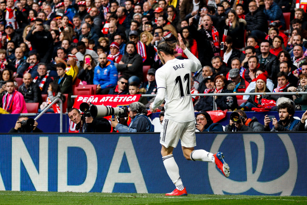 La Liga call for Gareth Bale to be banned for offensive celebration against Atletico Madrid