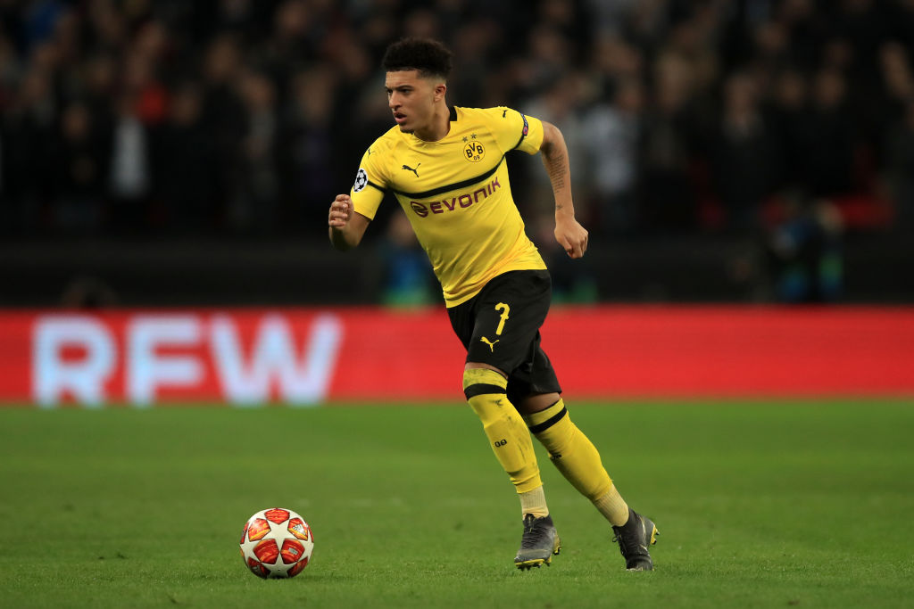 Jurgen Klopp tried to sign Jadon Sancho for Liverpool but Man City blocked the deal