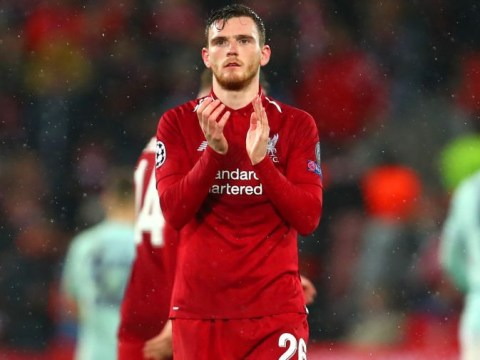 Andrew Robertson hails 'different class' Fabinho after Liverpool's draw with Bayern Munich
