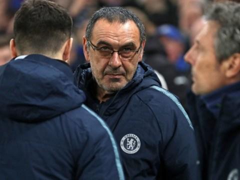 Chelsea boss Maurizio Sarri rubbishes rumours he's held talks with Roma