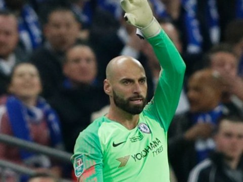 Maurizio Sarri reveals if he really wanted Willy Caballero to replace Kepa for Chelsea's penalty shootout against Manchester City