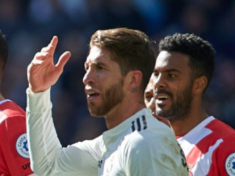 Sergio Ramos claims unwanted record as Real Madrid slump to defeat against Girona