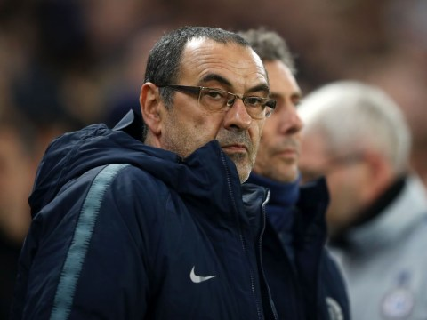 Chelsea players convinced Maurizio Sarri will be sacked if they lose to Spurs