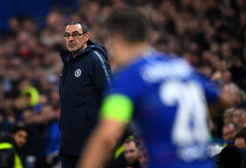 The formation Chelsea stars want Maurizio Sarri use against Manchester City in Carabao Cup final