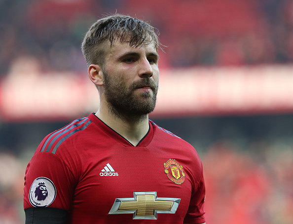 Luke Shaw reveals what Manchester United players said at half-time in Liverpool draw