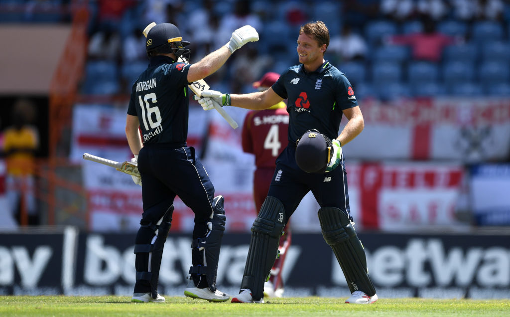 England set new world record as Jos Buttler and Eoin Morgan hammer West Indies