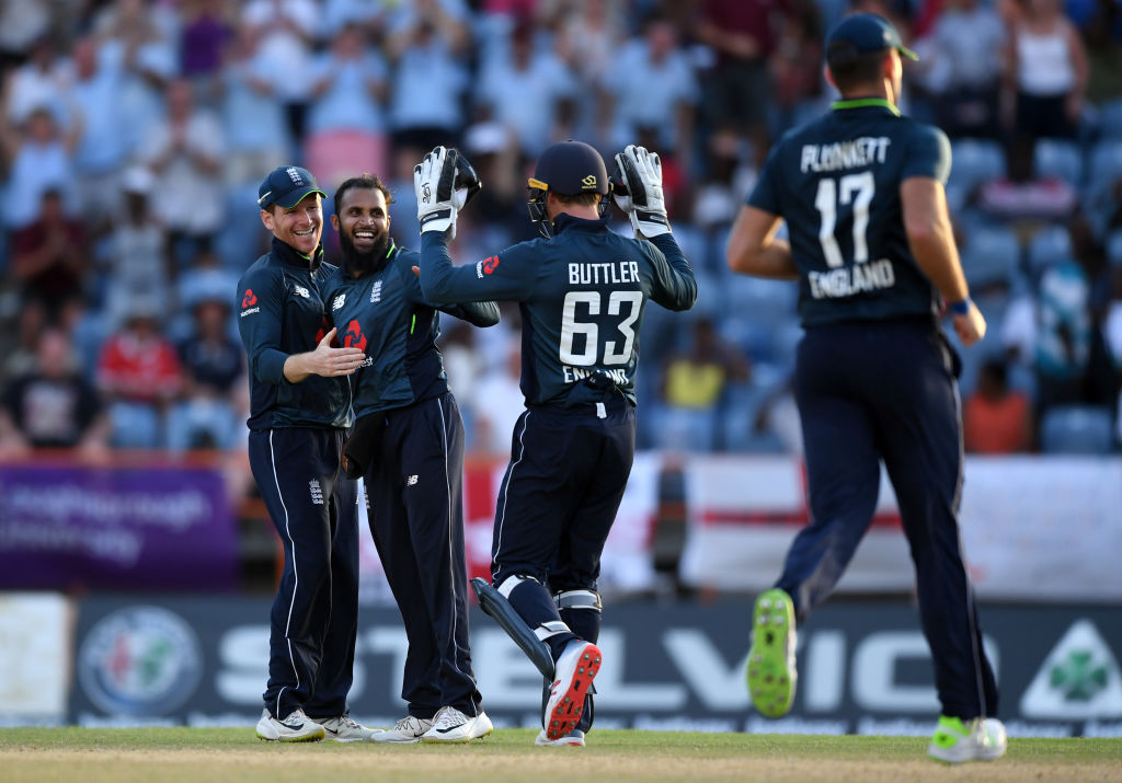 England captain Eoin Morgan hails Jos Buttler and Adil Rashid after thrilling West Indies victory