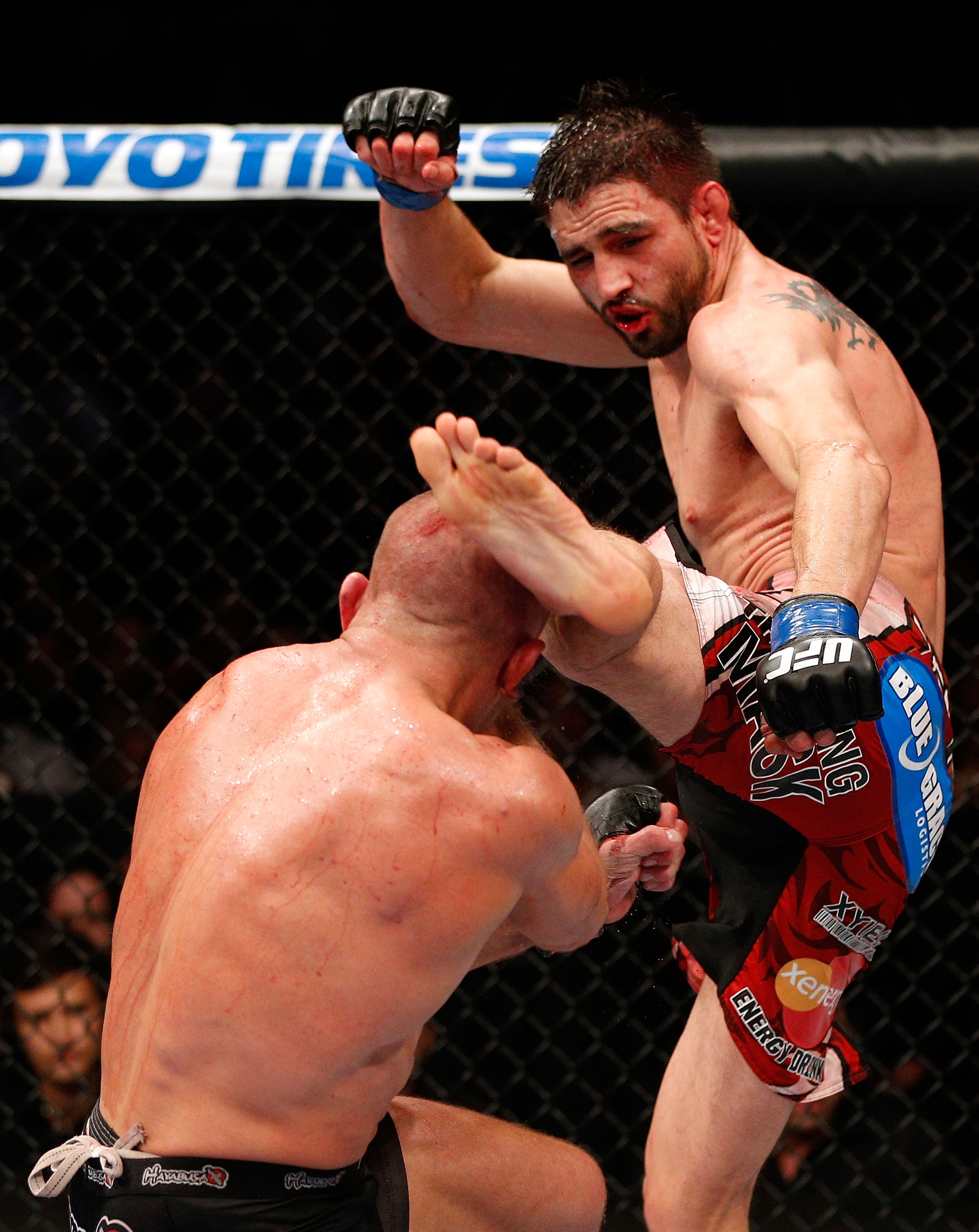 Georges St-Pierre's 'proudest' moment was overcoming Carlos Condit's headkick in 2012