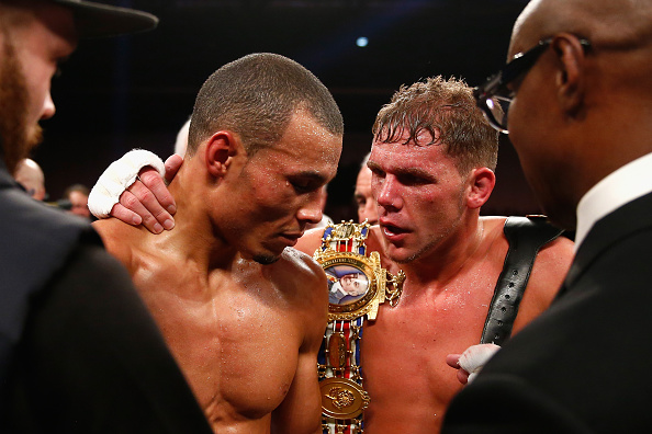 Chris Eubank Jr responds to Billy Joe Saunders' call-out following James DeGale victory