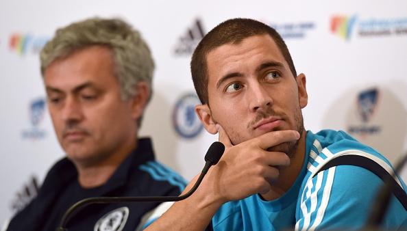 Jose Mourinho backs Eden Hazard to flourish at Real Madrid amid Chelsea exit rumours