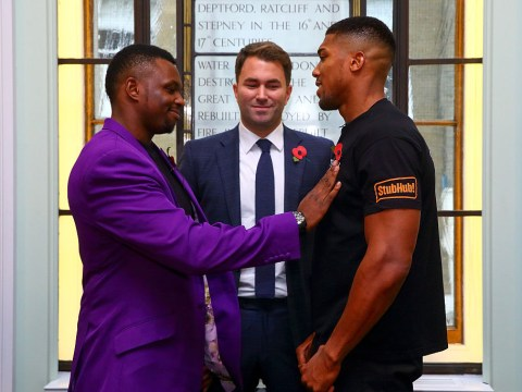Dillian Whyte blasts Eddie Hearn for 'fake' offers to fight Anthony Joshua