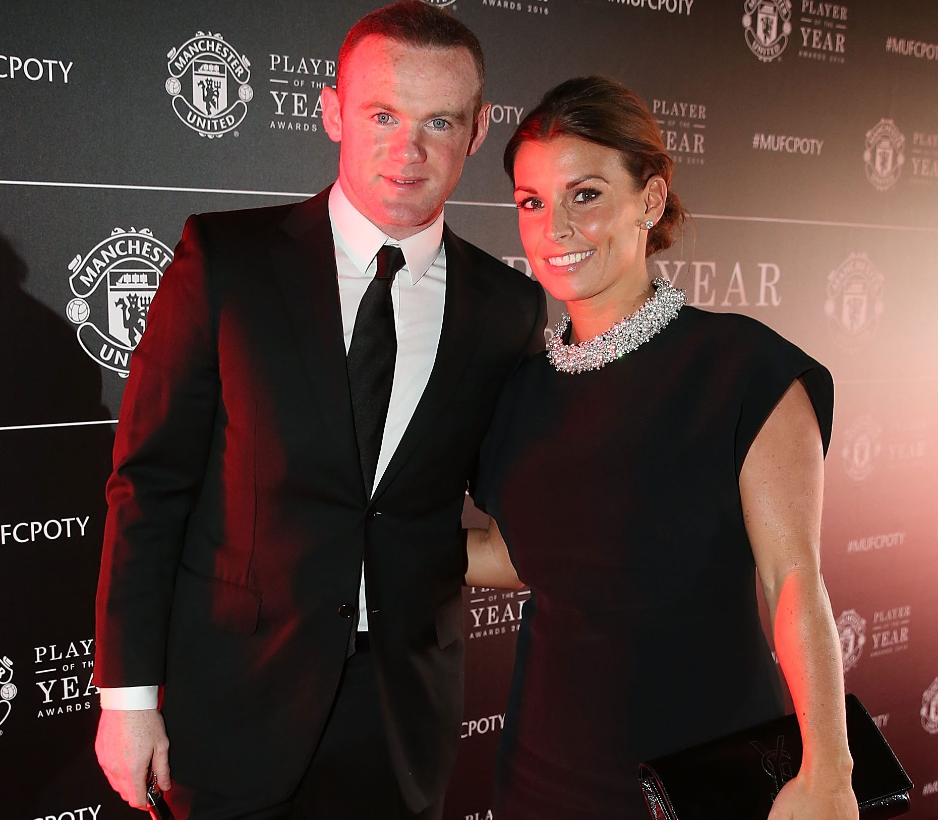 Coleen Rooney blasts claims she spent Valentine's Day with husband Wayne as she's spotted without wedding ring