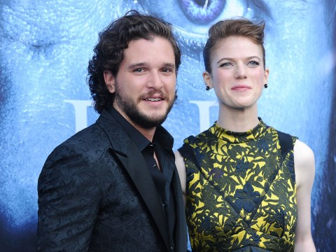 Kit Harington hasn't ruined Game of Thrones for Rose Leslie because she 'doesn't know' how season eight ends