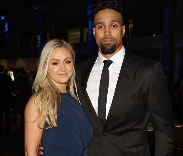 Ashley Banjo is one proud dad as he enjoys snuggles with
