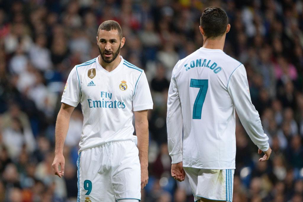Karim Benzema takes aim at Cristiano Ronaldo following his departure from Real Madrid