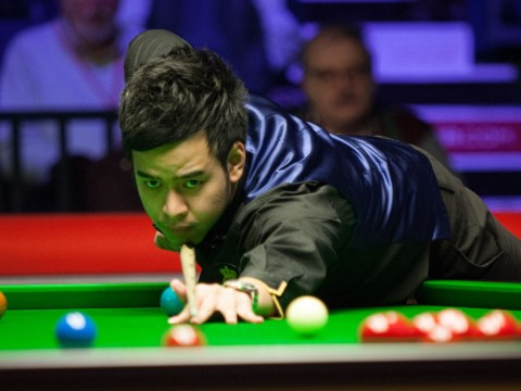 Watch Noppon Saengkham hit the second maximum 147 break of this year's Welsh Open