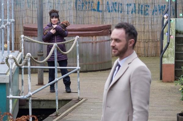 Breda targets James in Hollyoaks