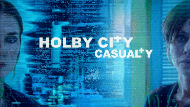 the promo image for the holby city and casualty crossover