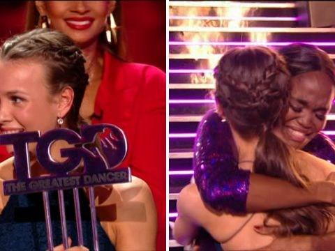 The Greatest Dancer's Ellie, 14, bags £50k as she's crowned winner in emotional finale