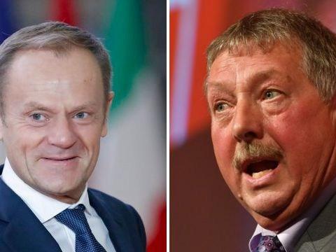 DUP MP calls Donald Tusk a 'devilish, trident wielding, euro maniac'