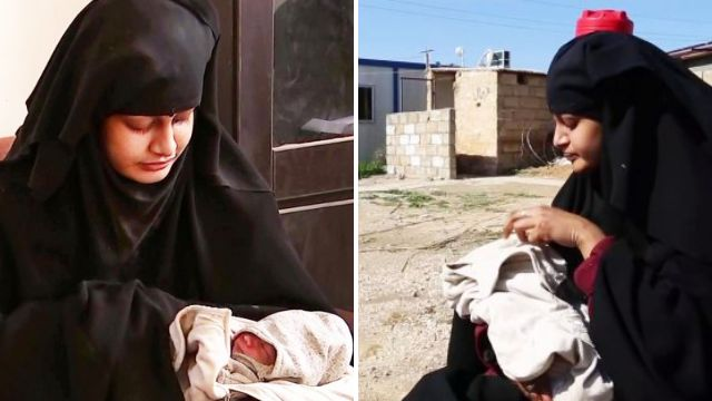 First clear photo of Isis bride Shamima Begum's baby
