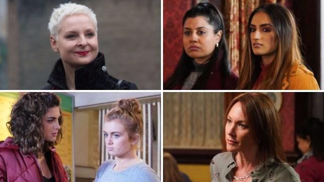 EastEnders spoilers for Mary, Iqra, Habiba, Evie, Tiffany and Rainie